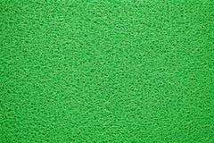 Green doormat texture background Stock Images