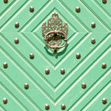 Green doors Royalty Free Stock Photography