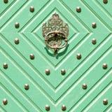 Green doors Royalty Free Stock Photography