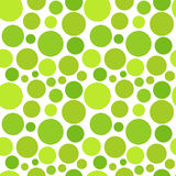 Green dot pattern Royalty Free Stock Image