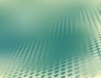 Green dots. Abstract editable vector illustration of a green halftone pattern stock illustration