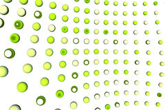 Green dots background. Green & yellow dots abstract background vector illustration