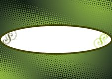 Green dots copyspace background Royalty Free Stock Photography
