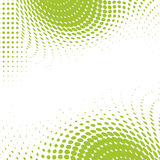 Green dots ecological background. With place for your text stock illustration