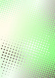 Green dots poster background Royalty Free Stock Images