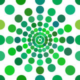 Green Dots Seamless pattern Stock Photo
