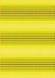 Green dots on yellow background Stock Photos