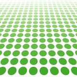 Green dotted background Royalty Free Stock Image