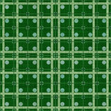 Green dotted fabric Royalty Free Stock Photo