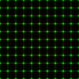 Green dotted net seamless background) Stock Photo