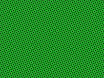 Green dotted pattern Stock Images