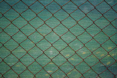 Green double fence Royalty Free Stock Images