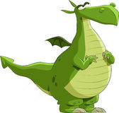 Green dragon Stock Photo
