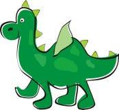 Green dragon Stock Image