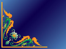 Green dragon. Stock Images