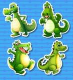 Green dragon Royalty Free Stock Photography
