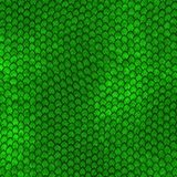 Green Dragon scales pattern. Large background texture Vector Illustration