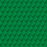 Green dragon scales seamless background texture Royalty Free Stock Photos