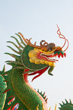 Green dragon statue Stock Photography