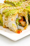 Green Dragon sushi Stock Photography