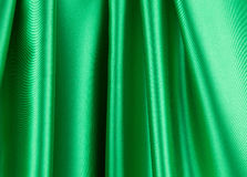 Green drapery. Stock Images