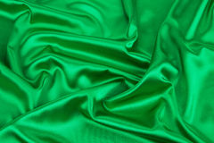 Green drapery. Stock Photography