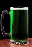 Green draught beer Stock Photography