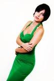 Green dress Stock Photos