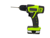 Green drill side view Royalty Free Stock Photo
