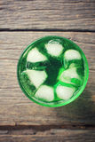 Green drinks Royalty Free Stock Image