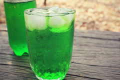 Green drinks Stock Images