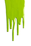 Green Dripping Paint Stock Photos