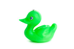 Green duck toy Stock Photography