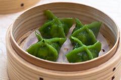 Green Dumpling Royalty Free Stock Photo
