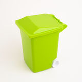 Green dumpster Stock Photography