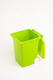 Green dumpster Royalty Free Stock Photo