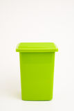 Green dumpster Royalty Free Stock Image