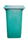 Green dustbin Royalty Free Stock Photos