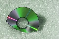Green DVD Royalty Free Stock Images