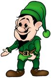 Green Dwarf Royalty Free Stock Photography