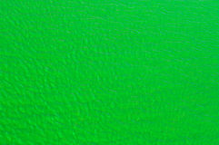 Green Dyed Canal Water with Ripples for Background Stock Photography