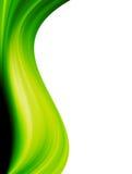 Green dynamic wave Stock Photos