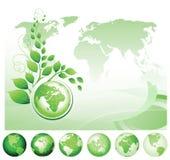 Green Earth. Stock Image