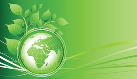 Green Earth Stock Photo