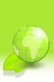 Green earth Royalty Free Stock Photos
