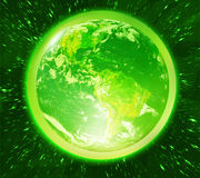 Green earth Royalty Free Stock Photography