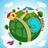Green Earth Stock Image