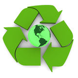 Green Earth Royalty Free Stock Photos