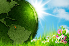 Green Earth. Stock Images