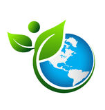 Green Earth Royalty Free Stock Image